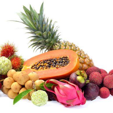 タイの果物 ©生の果物輸出量第5位のロンコン ©Thai Health Promotion Organization