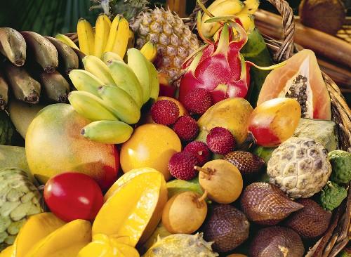 タイの果物 ©Thai Health Promotion Organization