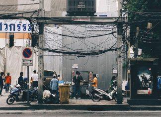 バンコクの電線