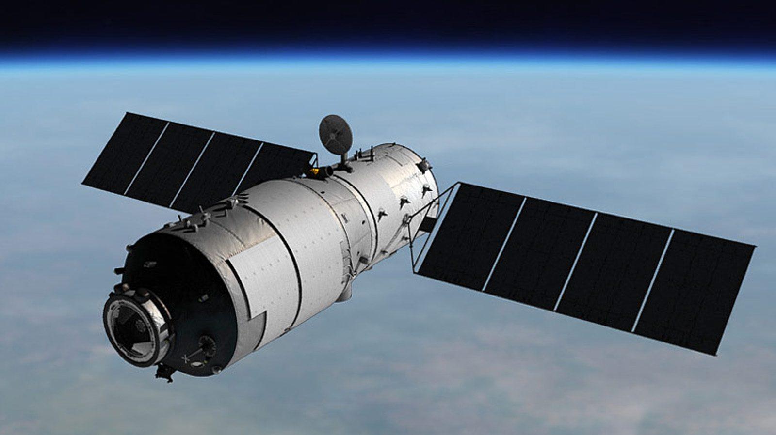 制御不能になった中国の宇宙実験施設
