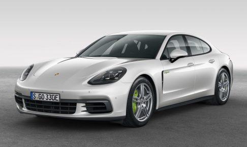 Porsche Panamera 4 E-Hybrid Unveiled