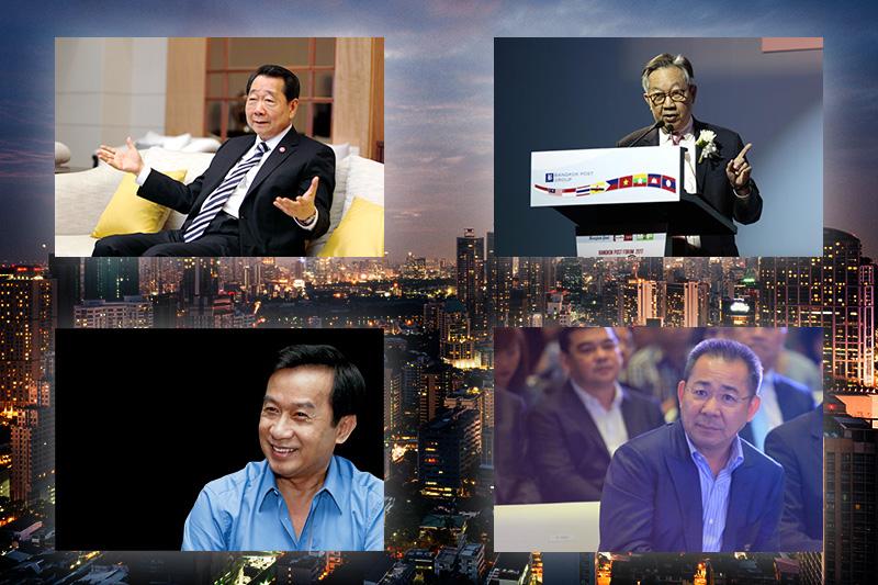 タイ富豪ラインキング2018