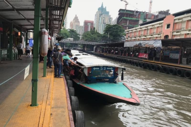 現在運行中の運河ボート