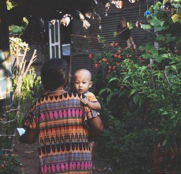 タイ人の赤ちゃん