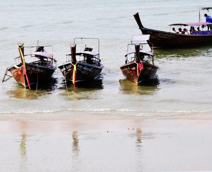 観光客が激減したパンガー湾