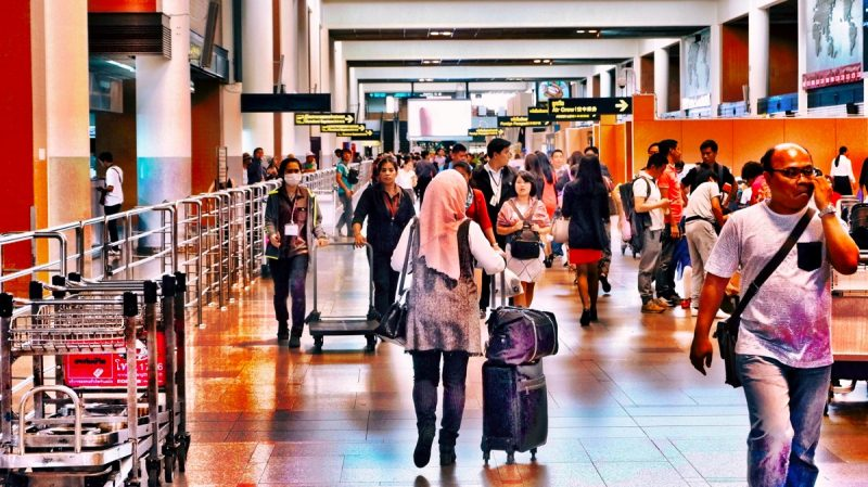 LCC離発着世界一のドンムアン空港