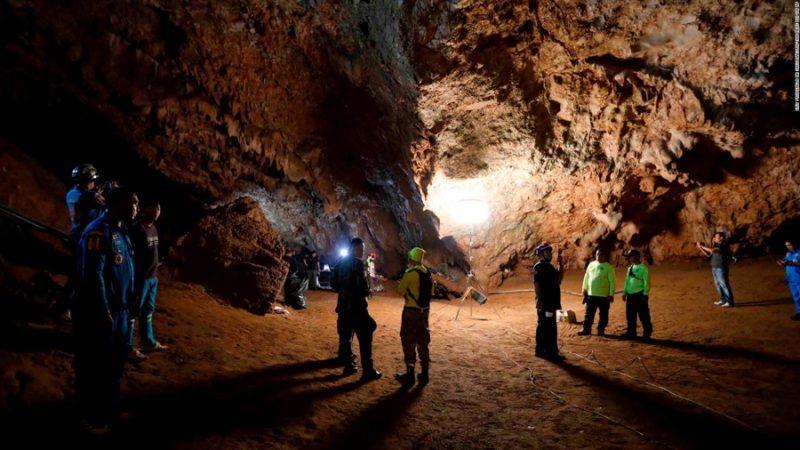 タイ洞窟サッカー少年行方不明事故 Photo by CNN