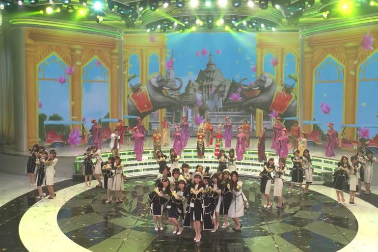 BNK48 紅白歌合戦の舞台裏