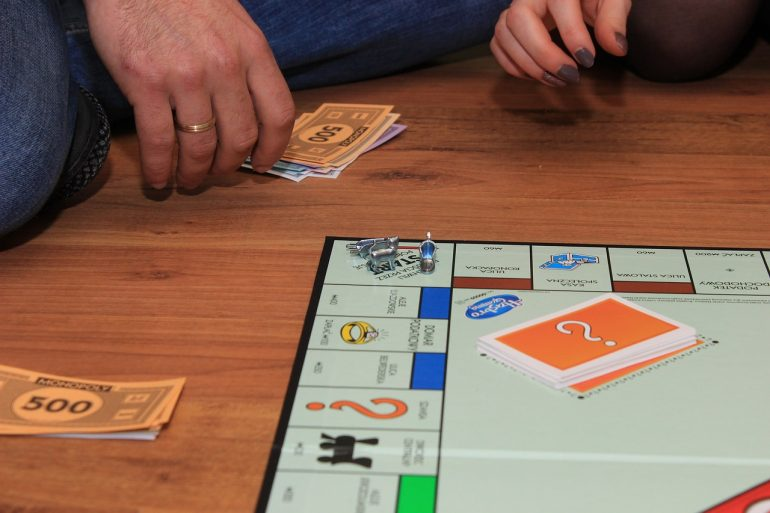 ボードゲームと賭博を間違える