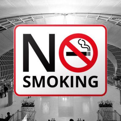 タイの主要空港は全面禁煙