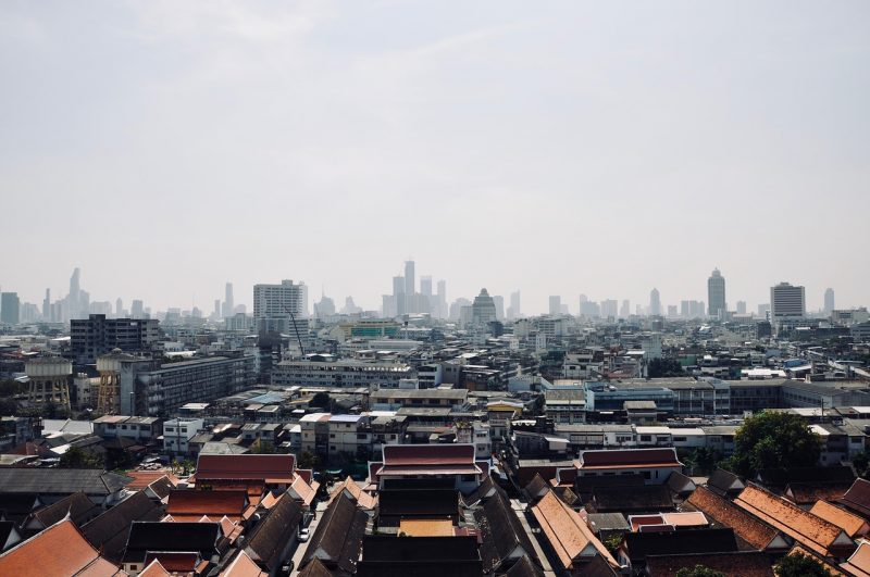 近未来化するバンコク