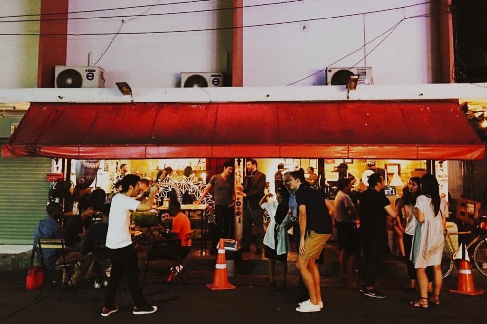 多国籍なファンが集まるGOJA GALLERY CAFE