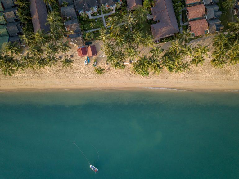 サムイ島のビーチ