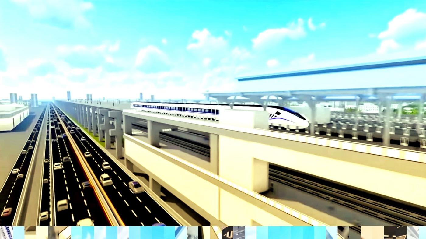 タイの高速鉄道