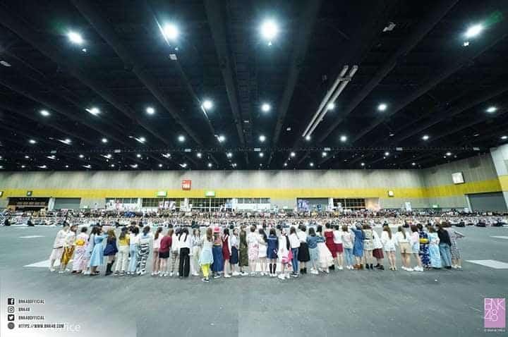ファンとメンバーの労いの場「お疲れ様会」 Photo by BNK48 Offical