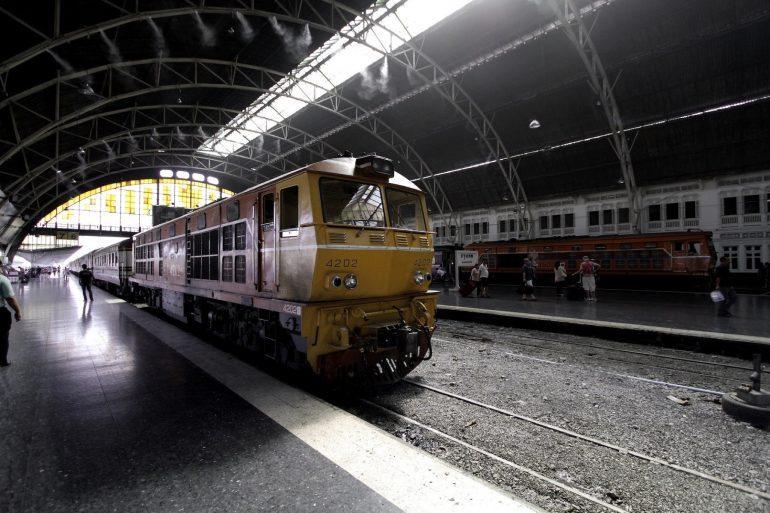 タイの鉄道 / Photo by SATOSHI KODAMA