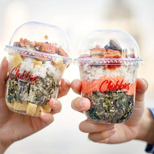カップ寿司©chubbiesbkk