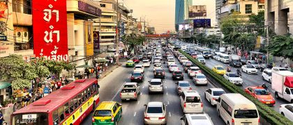 バンコクでの交通事故リスク