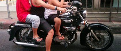 タイのバイク死亡事故が世界最多