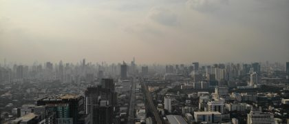 バンコクの大気汚染がさらに深刻に