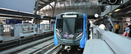 タイ初となるチャオプラヤー川の下を通る鉄道が試運転