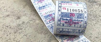 ICカードの導入でタイの紙製路線バス乗車券が廃止に