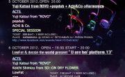 勝井祐二 (from ROVO) ソロツアーとして初来タイ公演が決定!来月、バンコクで!