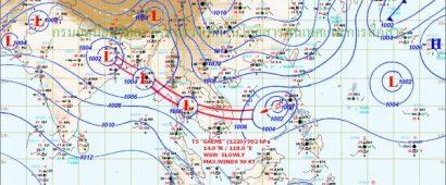 えっ?台風がタイ中心部を直撃?気象台が大雨と強風に警戒を呼びかけ!