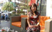 海外に出て「食育」の大切さを痛感したと話す食育マイスター、田中瑞恵さん