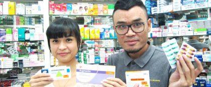 タイでは抗生物質を薬局で買える