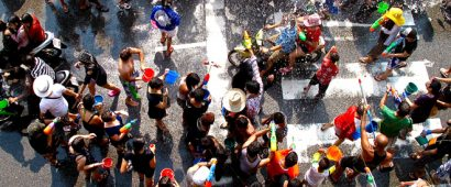 5分で理解するタイの水かけ祭りソンクランの歴史と基本