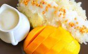 マンゴーともち米!タイのスイーツ「カオニャオ・マムアン」を食す