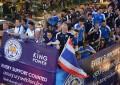"""英プレミアリーグの""""奇跡の王者""""がバンコクでVパレード!!"""