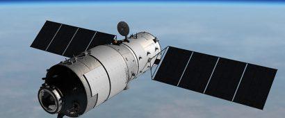 制御不能になった中国の宇宙実験施設「天宮1号」をタイ空軍が追跡