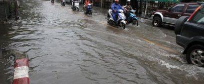 ゲリラ豪雨に注意!タイ気象局が雨期入りを宣言
