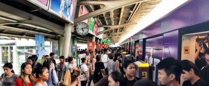 バンコク高架鉄道BTSで連日通信トラブル発生