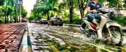 地盤沈下の影響で10年後にバンコクの40%が沈没